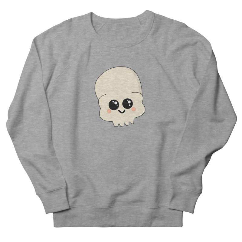 Skull Men's French Terry Sweatshirt by theladyernestember's Artist Shop