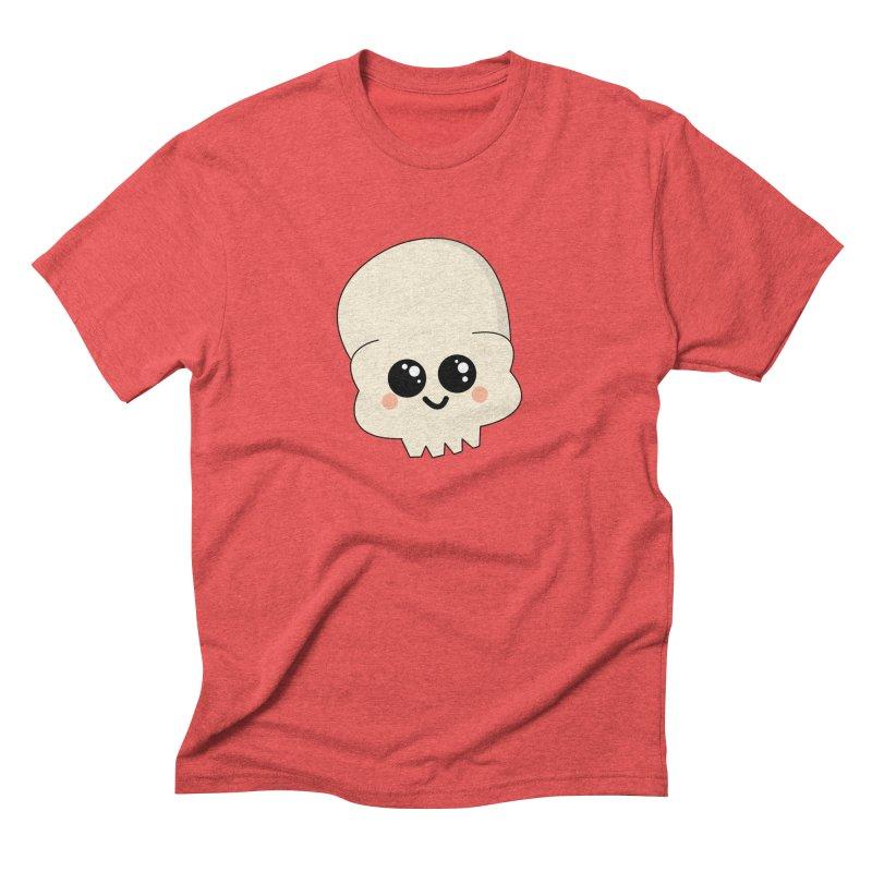 Skull Men's Triblend T-Shirt by theladyernestember's Artist Shop