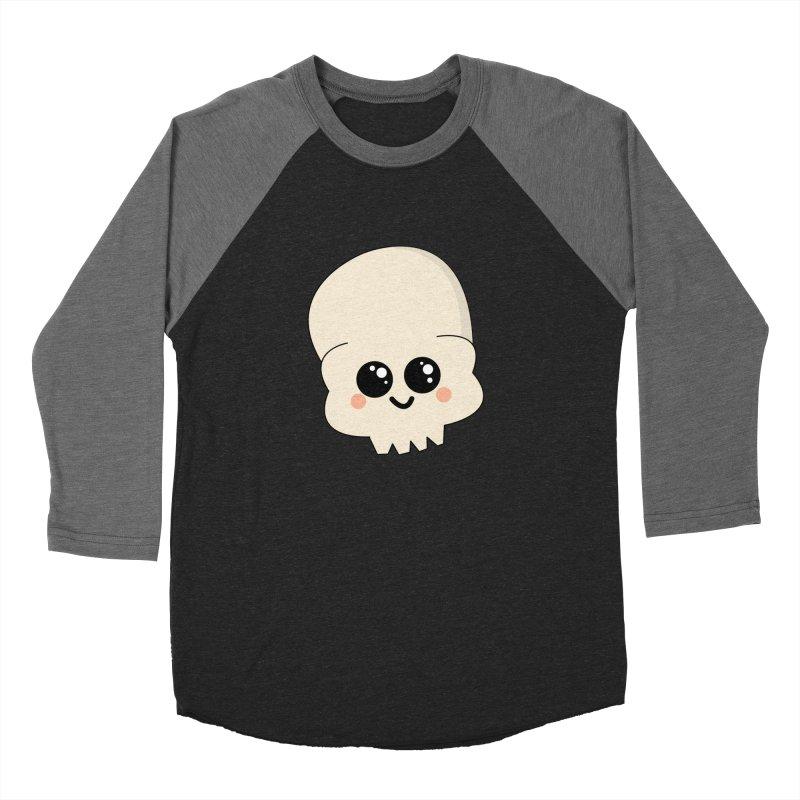 Skull Men's Baseball Triblend Longsleeve T-Shirt by theladyernestember's Artist Shop