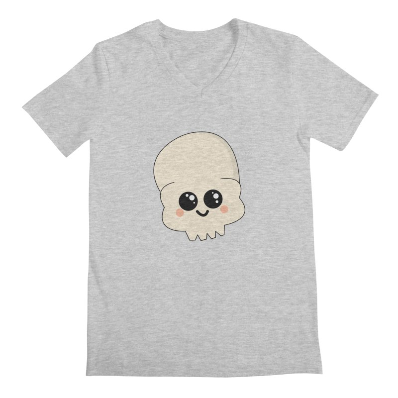 Skull Men's Regular V-Neck by theladyernestember's Artist Shop