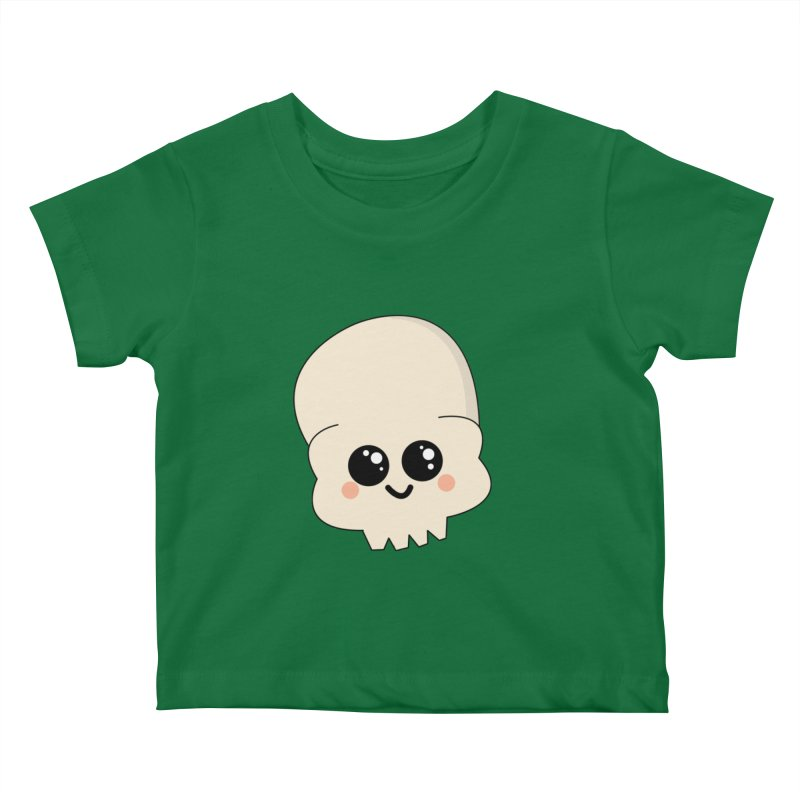 Skull Kids Baby T-Shirt by theladyernestember's Artist Shop