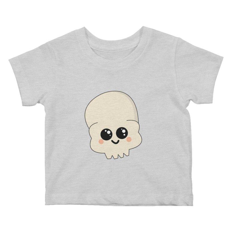 Skull Kids Baby T-Shirt by theladyernestember's Artist Shop