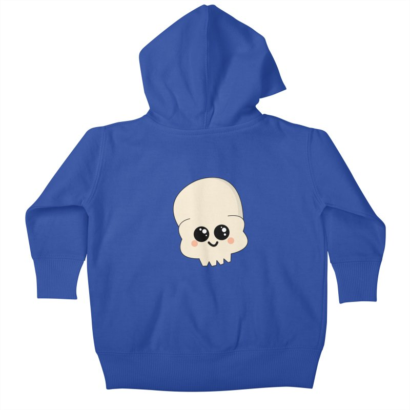 Skull Kids Baby Zip-Up Hoody by theladyernestember's Artist Shop