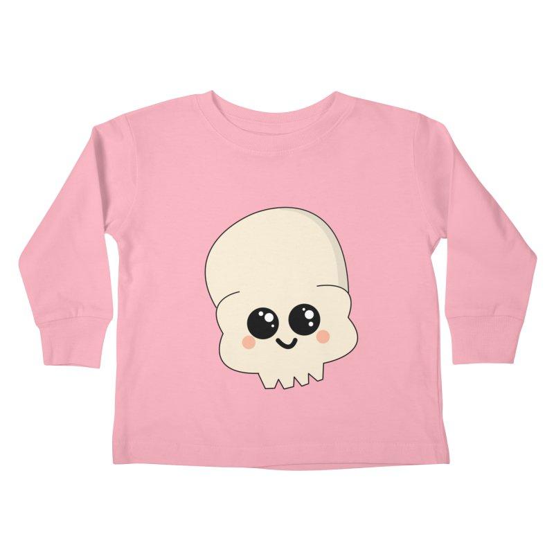 Skull Kids Toddler Longsleeve T-Shirt by theladyernestember's Artist Shop