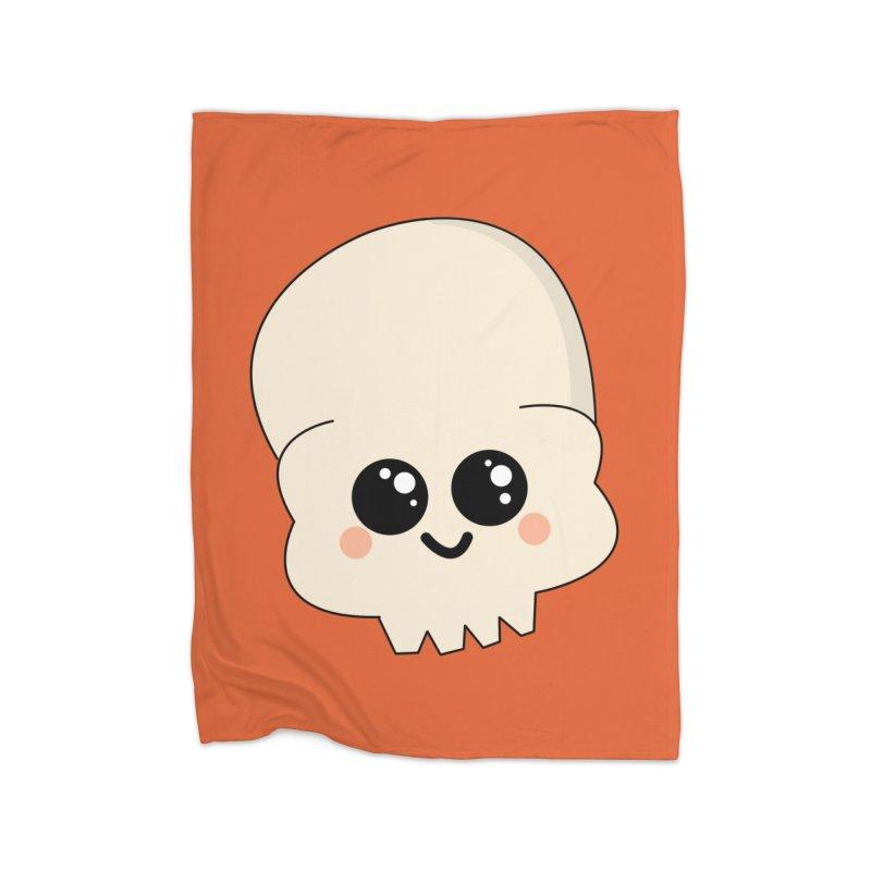 Skull Home Blanket by theladyernestember's Artist Shop