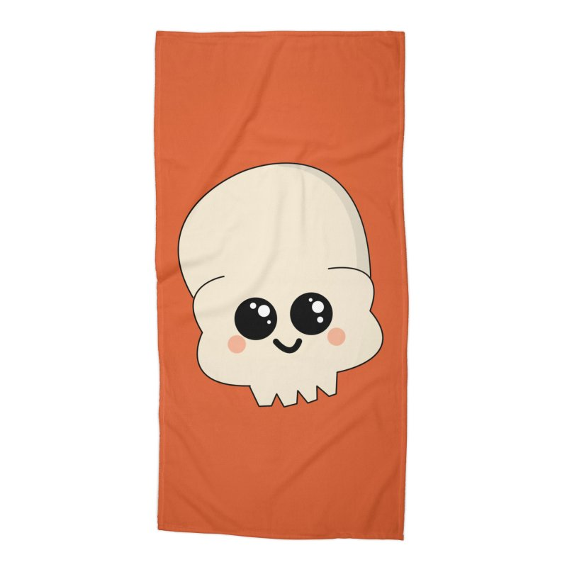 Skull Accessories Beach Towel by theladyernestember's Artist Shop