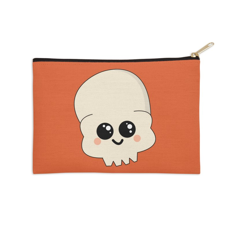 Skull Accessories Zip Pouch by theladyernestember's Artist Shop