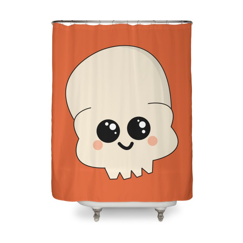 Skull Home Shower Curtain by theladyernestember's Artist Shop