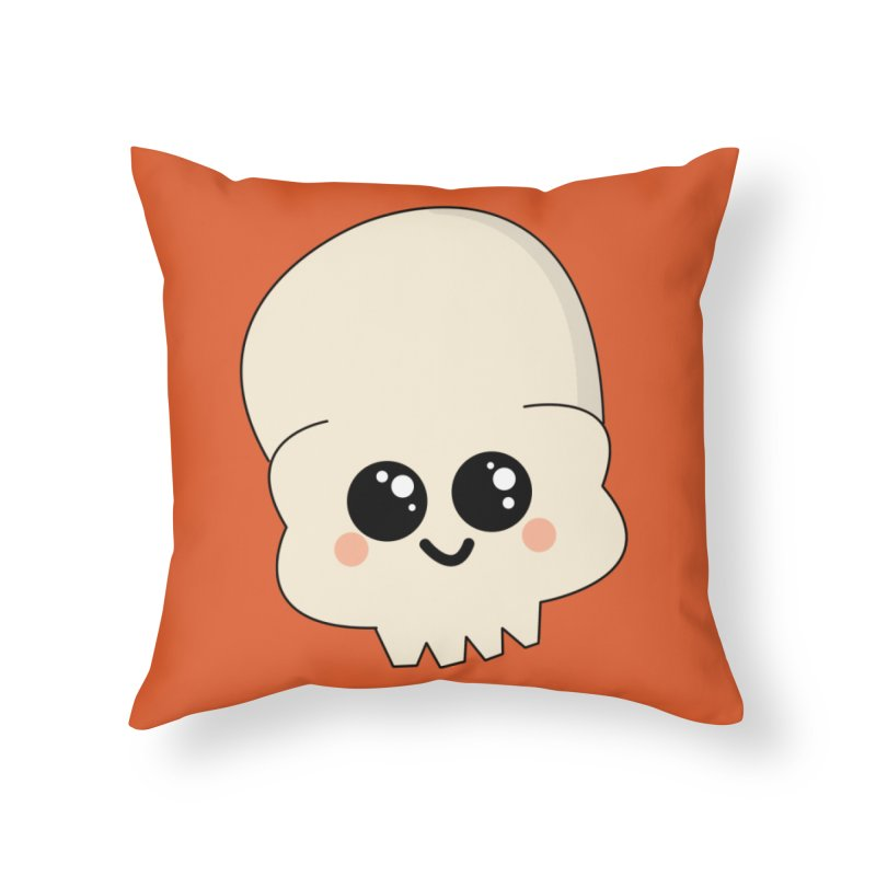 Skull Home Throw Pillow by theladyernestember's Artist Shop