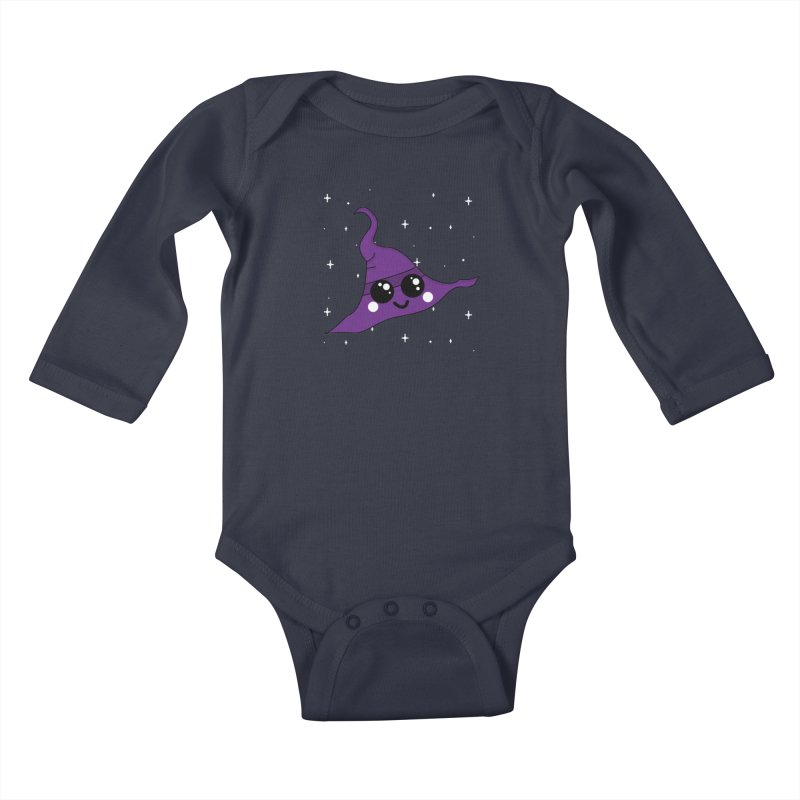 Witches' hat Kids Baby Longsleeve Bodysuit by theladyernestember's Artist Shop