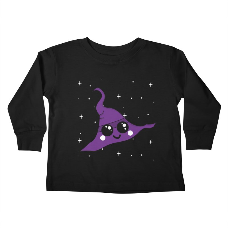 Witches' hat Kids Toddler Longsleeve T-Shirt by theladyernestember's Artist Shop