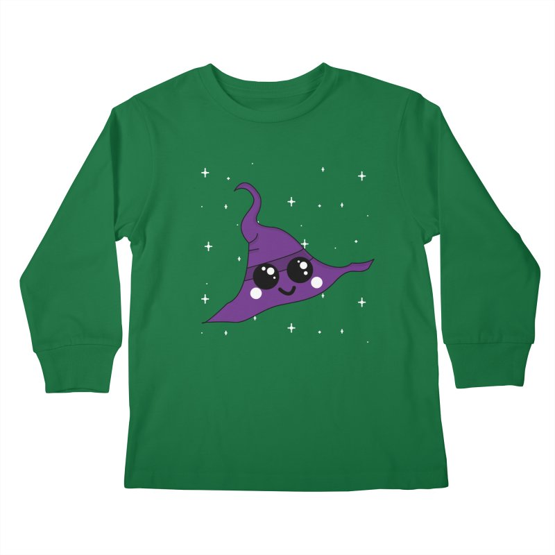 Witches' hat Kids Longsleeve T-Shirt by theladyernestember's Artist Shop