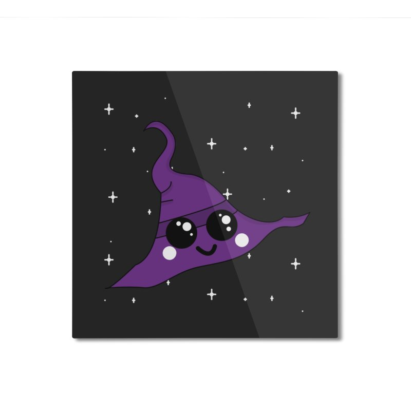Witches' hat Home Mounted Aluminum Print by theladyernestember's Artist Shop