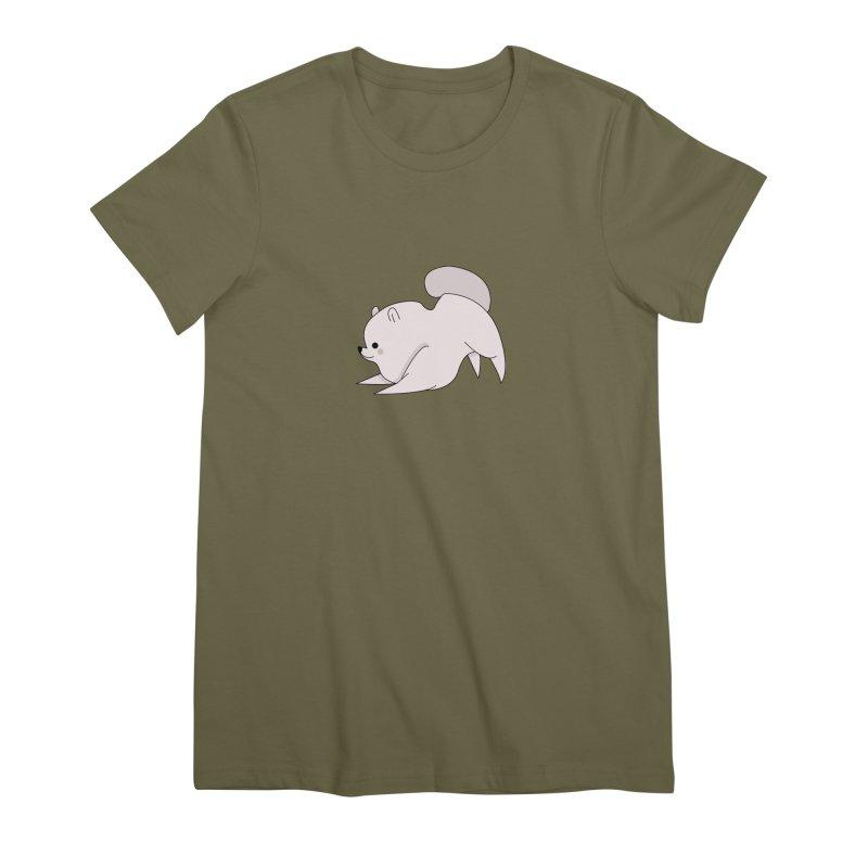 Puppy Women's Premium T-Shirt by theladyernestember's Artist Shop