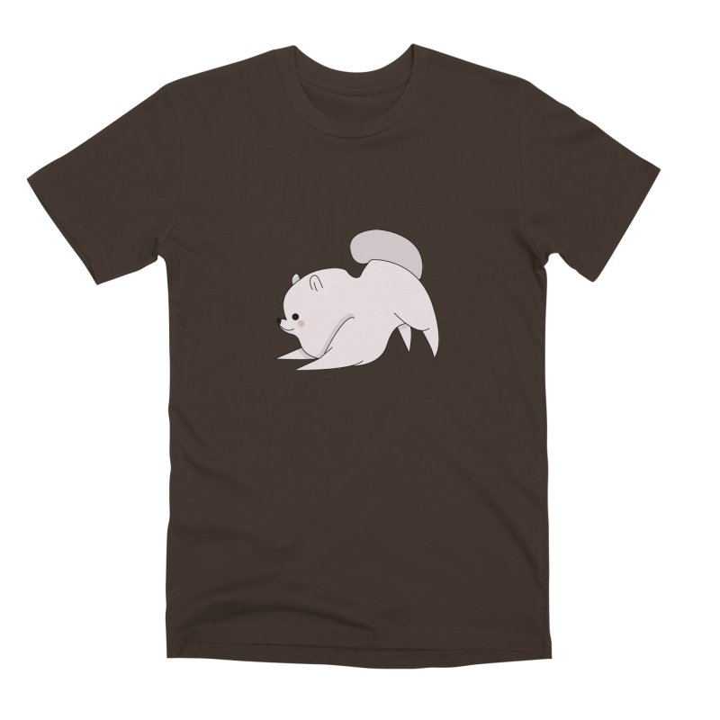 Puppy Men's Premium T-Shirt by theladyernestember's Artist Shop