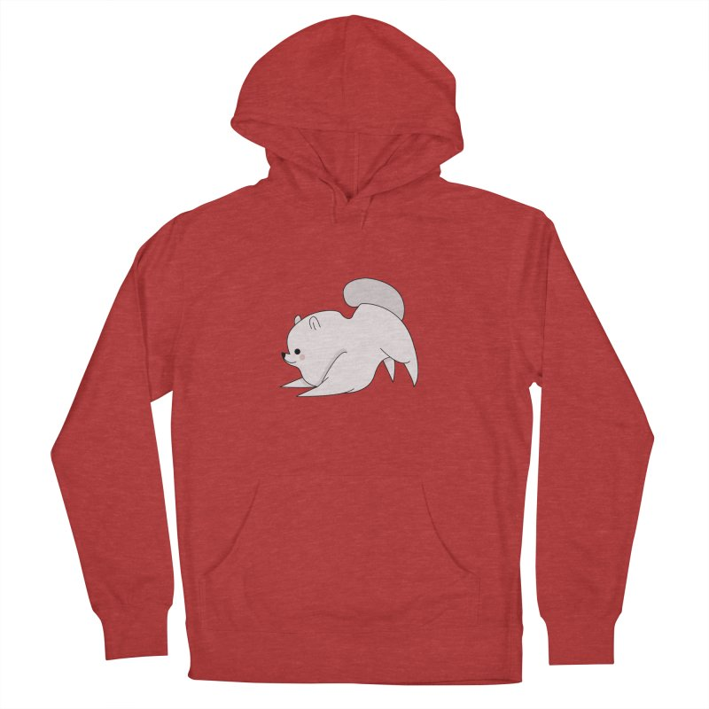 Puppy Women's French Terry Pullover Hoody by theladyernestember's Artist Shop