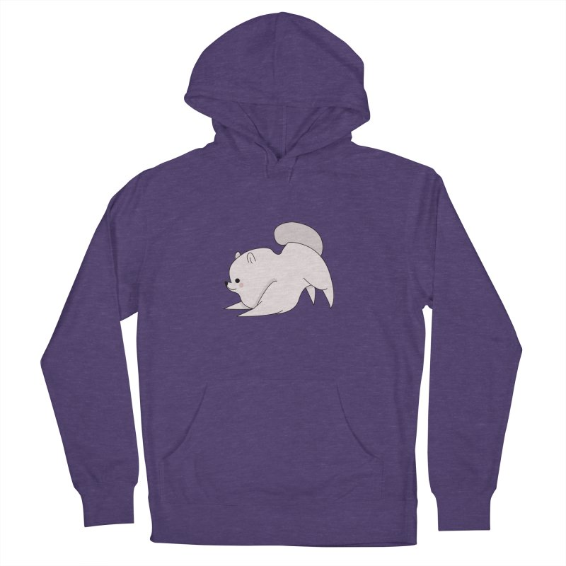 Puppy Men's French Terry Pullover Hoody by theladyernestember's Artist Shop