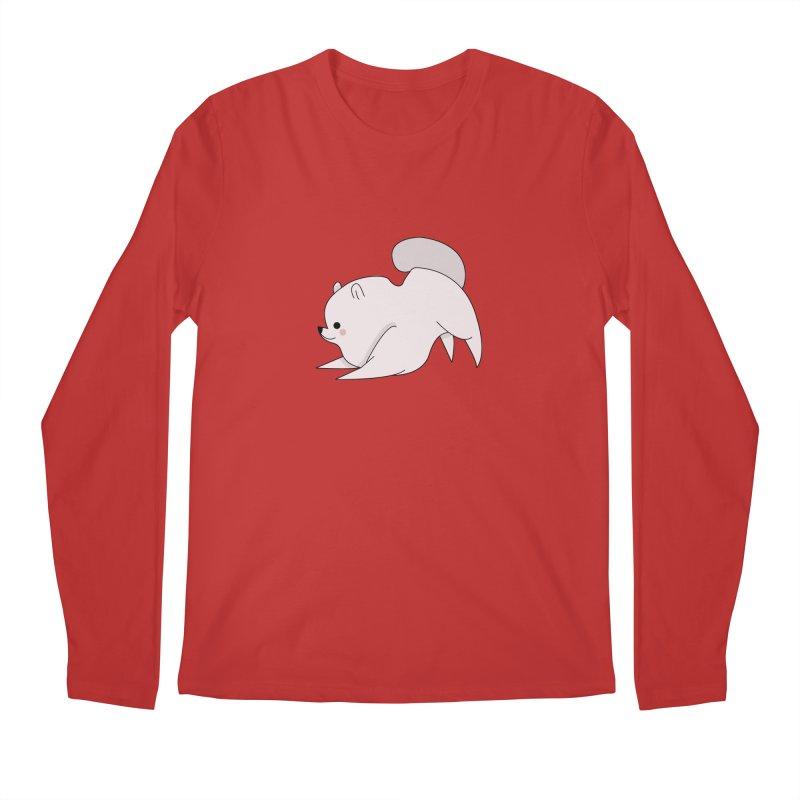 Puppy Men's Regular Longsleeve T-Shirt by theladyernestember's Artist Shop