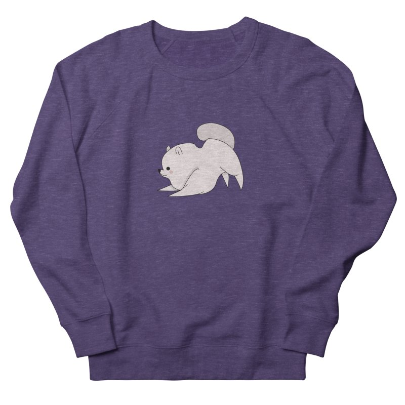 Puppy Women's French Terry Sweatshirt by theladyernestember's Artist Shop