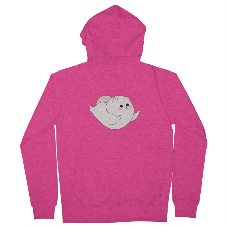 Puppy Women's French Terry Zip-Up Hoody by theladyernestember's Artist Shop