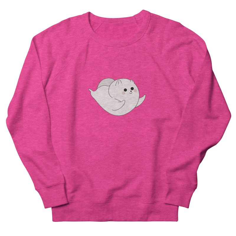 Puppy Men's French Terry Sweatshirt by theladyernestember's Artist Shop