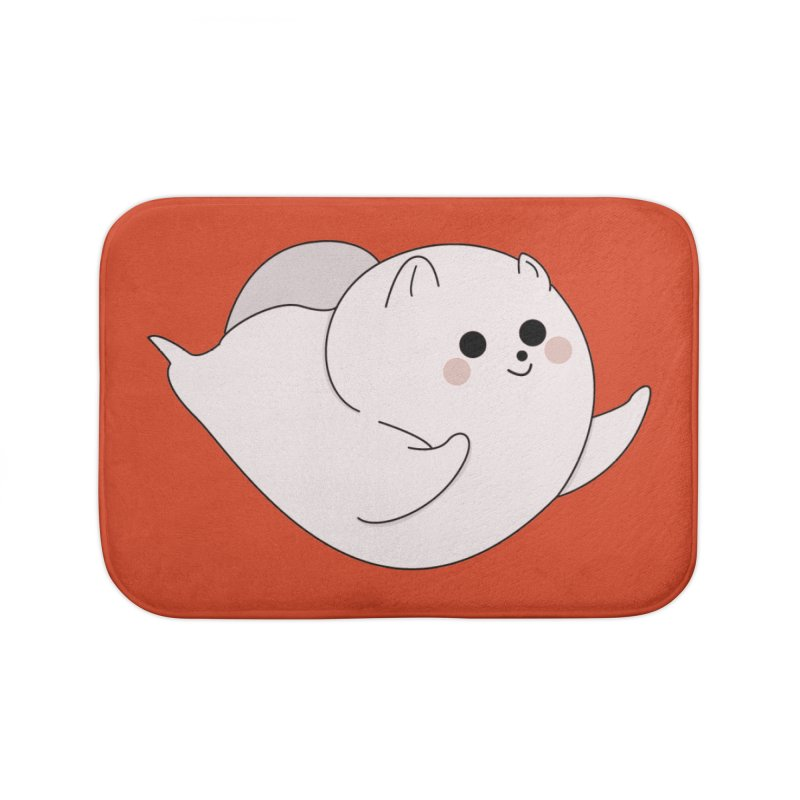 Puppy Home Bath Mat by theladyernestember's Artist Shop