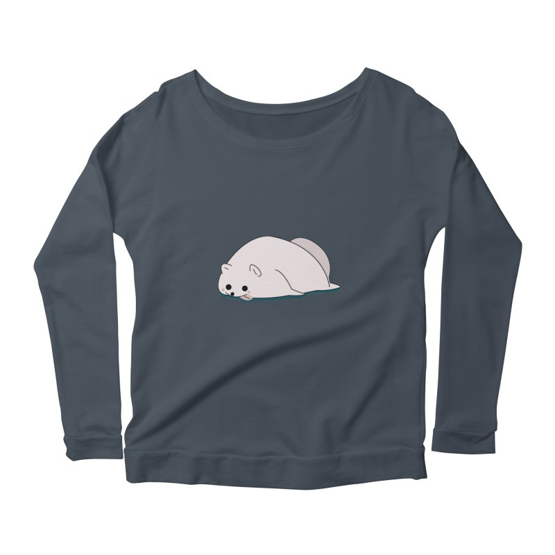 Puppy Women's Scoop Neck Longsleeve T-Shirt by theladyernestember's Artist Shop