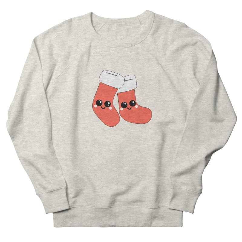 Christmas Stocking Women's French Terry Sweatshirt by theladyernestember's Artist Shop