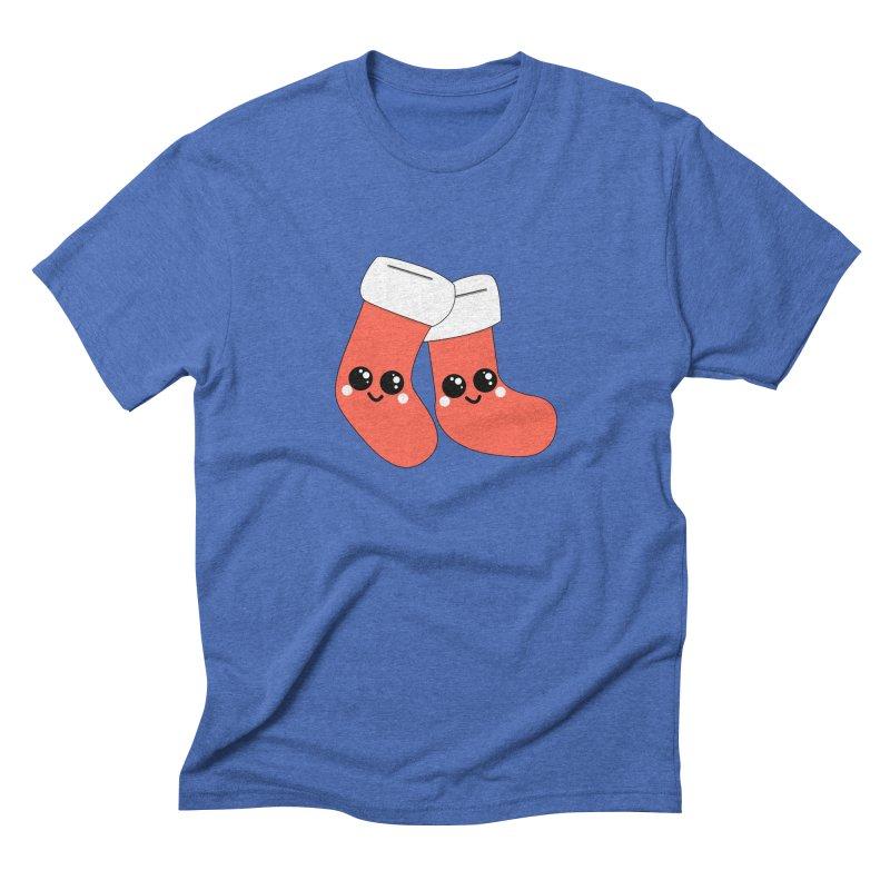 Christmas Stocking Men's T-Shirt by theladyernestember's Artist Shop