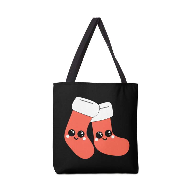 Christmas Stocking Accessories Bag by theladyernestember's Artist Shop