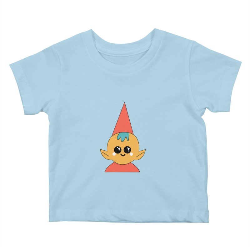 Christmas Elf Kids Baby T-Shirt by theladyernestember's Artist Shop