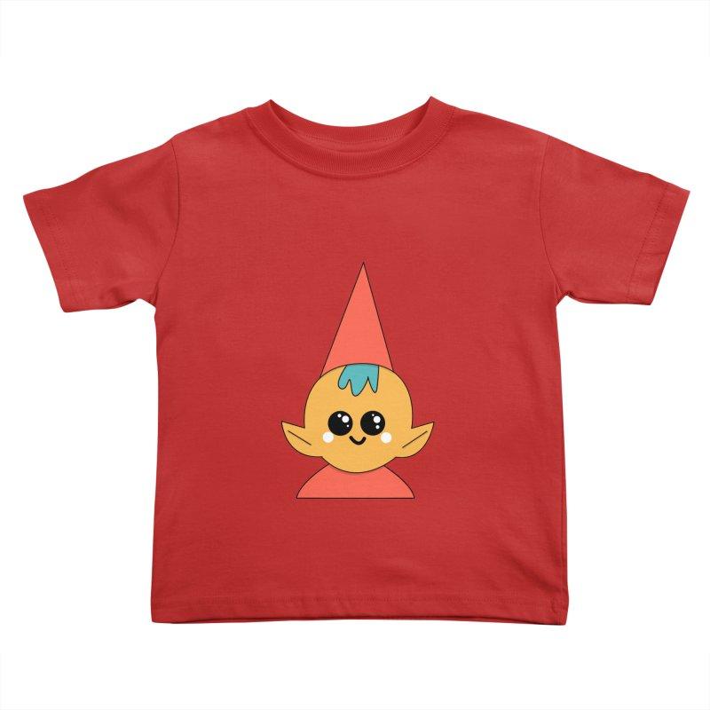 Christmas Elf Kids Toddler T-Shirt by theladyernestember's Artist Shop