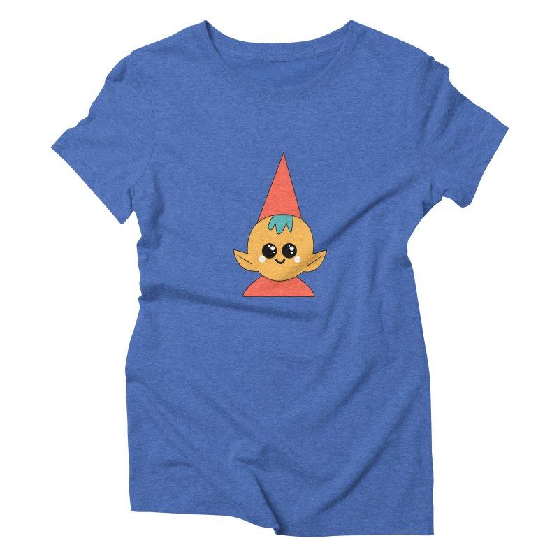 Christmas Elf Women's Triblend T-Shirt by theladyernestember's Artist Shop