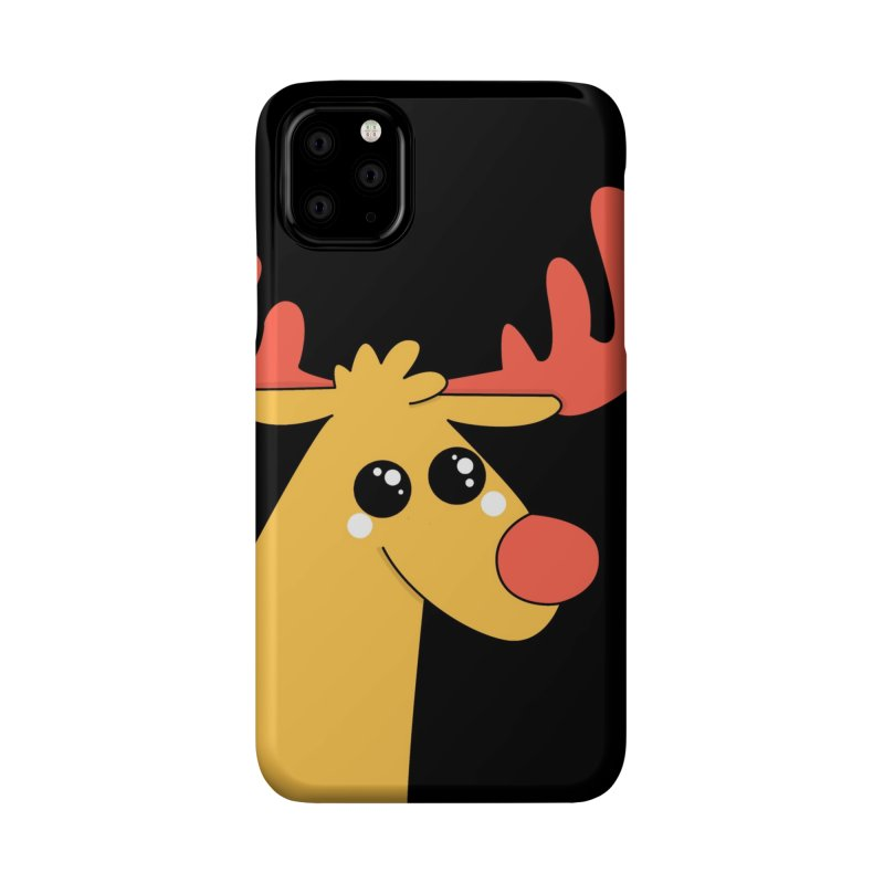 Christmas Moose Accessories Phone Case by theladyernestember's Artist Shop