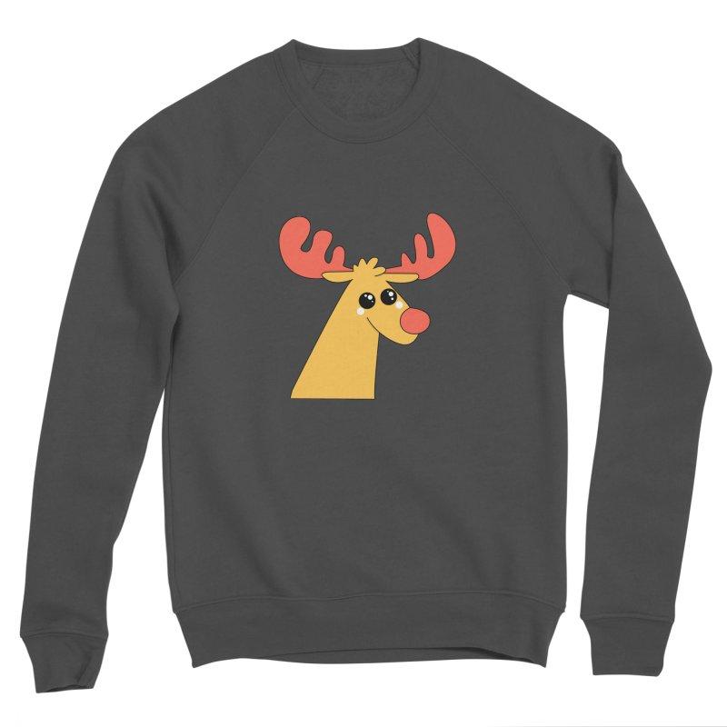 Christmas Moose Men's Sponge Fleece Sweatshirt by theladyernestember's Artist Shop