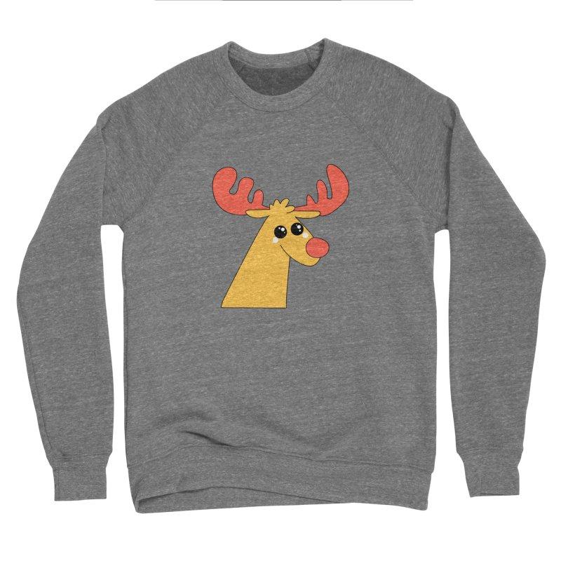 Christmas Moose Women's Sponge Fleece Sweatshirt by theladyernestember's Artist Shop