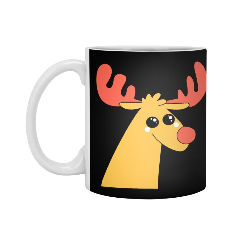Christmas Moose Accessories Mug by theladyernestember's Artist Shop