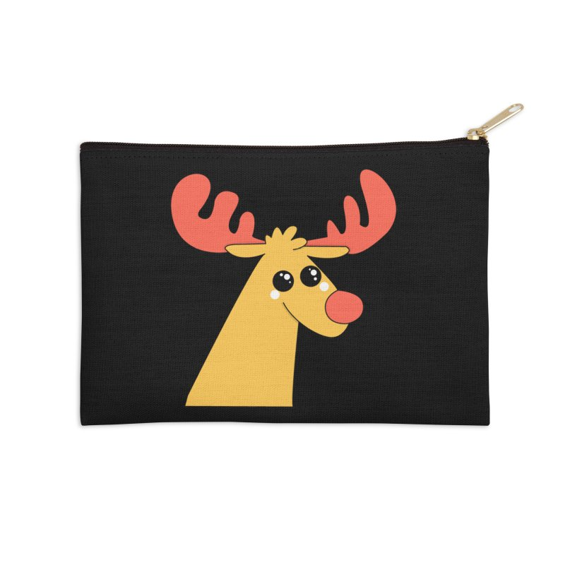 Christmas Moose Accessories Zip Pouch by theladyernestember's Artist Shop