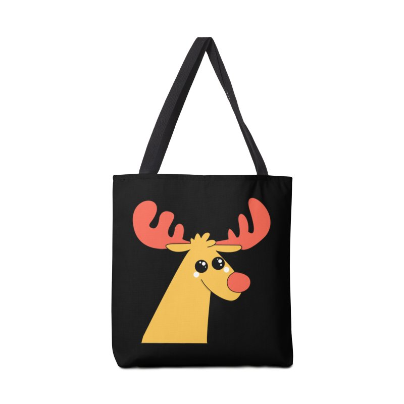 Christmas Moose Accessories Bag by theladyernestember's Artist Shop