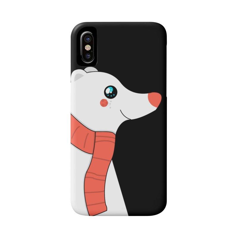 Christmas Polar Bear Accessories Phone Case by theladyernestember's Artist Shop