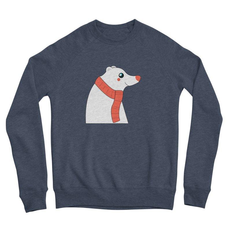 Christmas Polar Bear Women's Sponge Fleece Sweatshirt by theladyernestember's Artist Shop