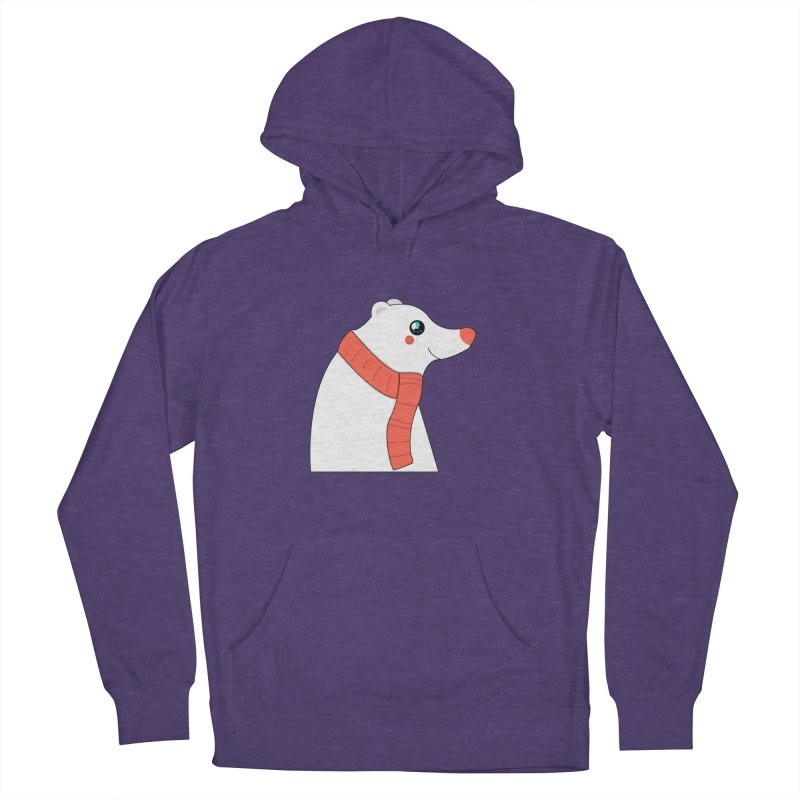 Christmas Polar Bear Men's Pullover Hoody by theladyernestember's Artist Shop