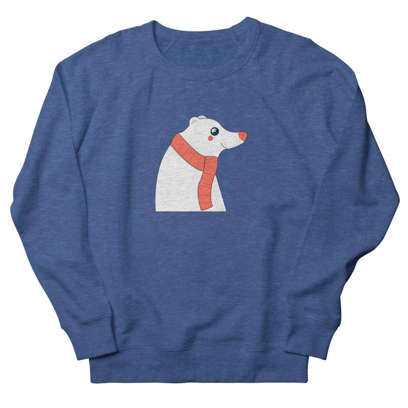 Christmas Polar Bear Men's Sweatshirt by theladyernestember's Artist Shop