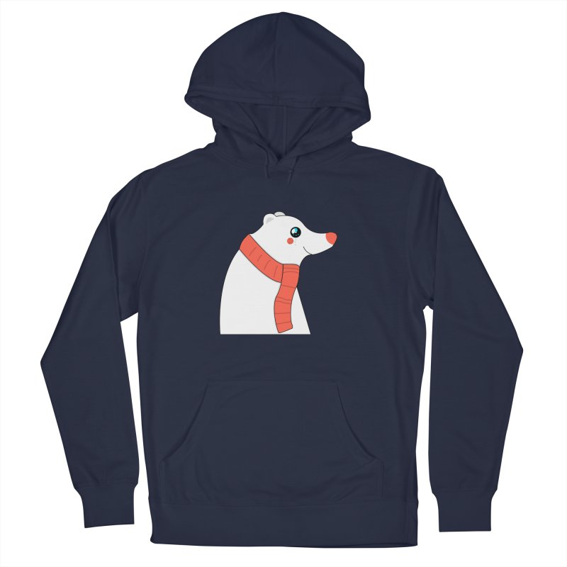 Christmas Polar Bear Women's French Terry Pullover Hoody by theladyernestember's Artist Shop