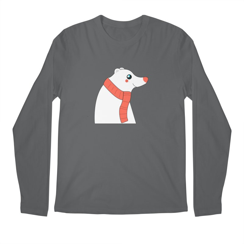 Christmas Polar Bear Men's Longsleeve T-Shirt by theladyernestember's Artist Shop
