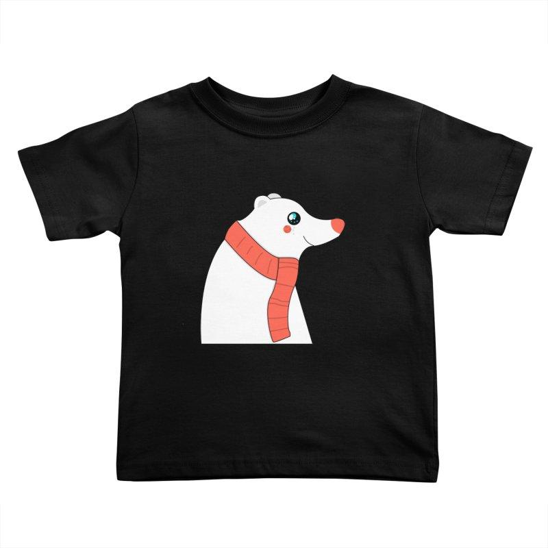 Christmas Polar Bear Kids Toddler T-Shirt by theladyernestember's Artist Shop