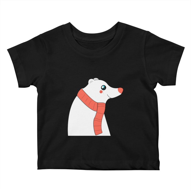Christmas Polar Bear Kids Baby T-Shirt by theladyernestember's Artist Shop