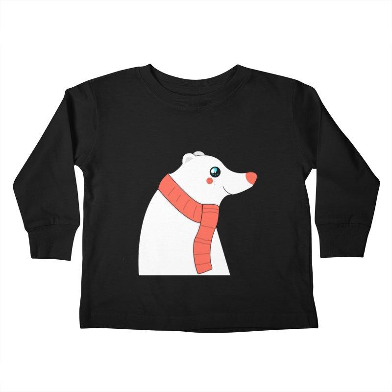Christmas Polar Bear Kids Toddler Longsleeve T-Shirt by theladyernestember's Artist Shop