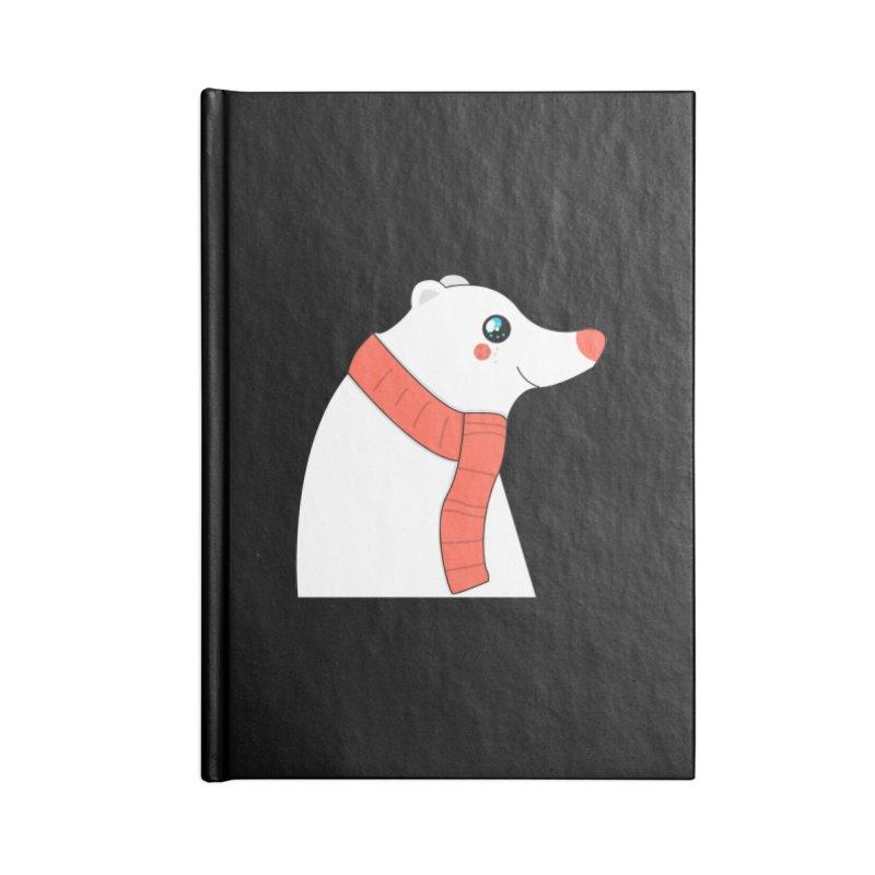 Christmas Polar Bear Accessories Notebook by theladyernestember's Artist Shop