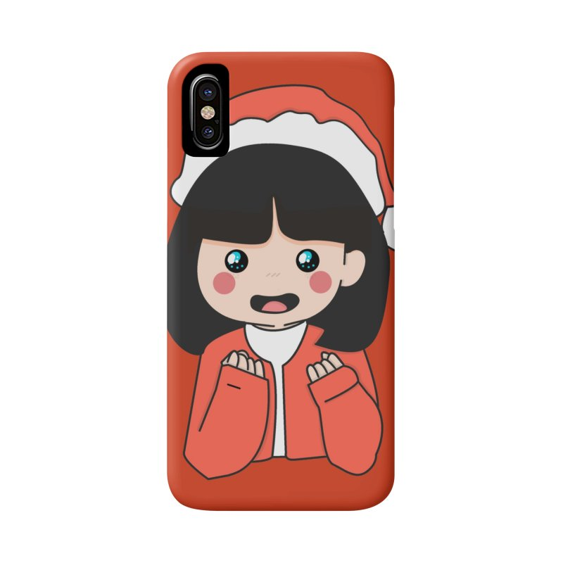 Christmas Girl Accessories Phone Case by theladyernestember's Artist Shop